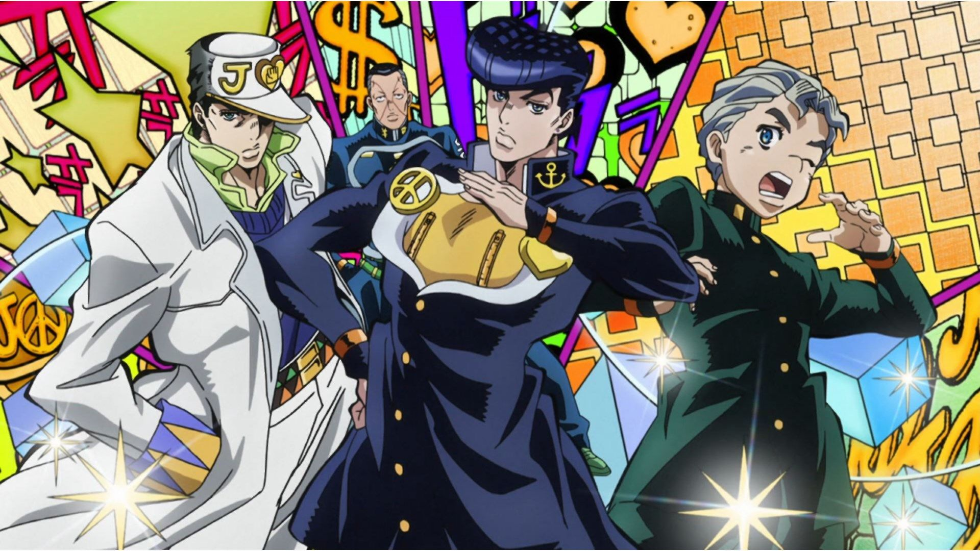 Wallpaper Desktop Jojos Bizarre Adventure Jojos Bizarre