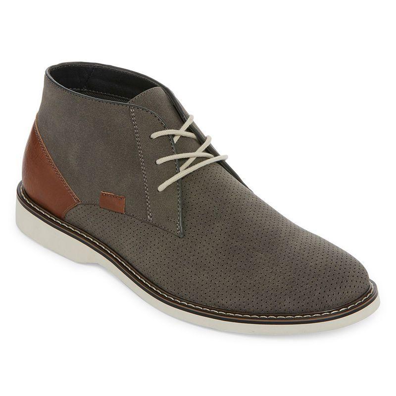 12c5694b0913f JF J.Ferrar Leander Mens Chukka Boots