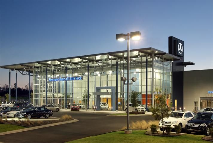 Mercedes dealership taggart architects auto dealers for Mercedes benz dealers atlanta