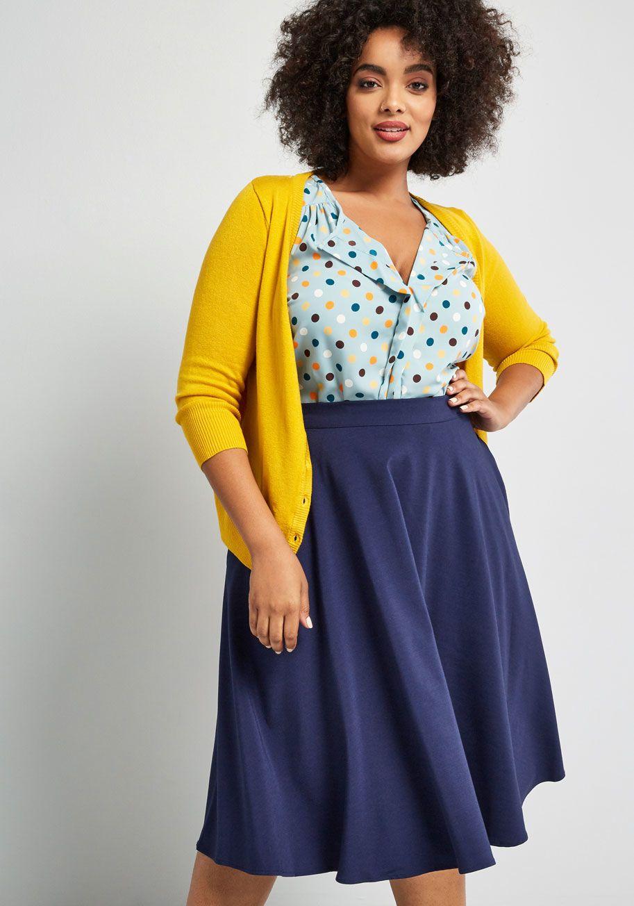 Black Gingham Tie-Waist Midi Skirt- 3 Ways | Midi skirt