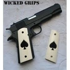 Image result for Ace of spades 1911 grips