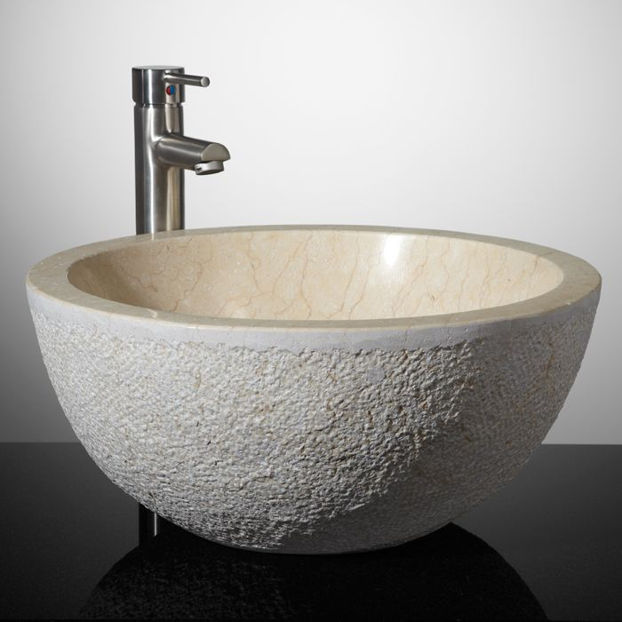 Extra Deep Vessel Sink Use In A Pair In The Master Bathroom