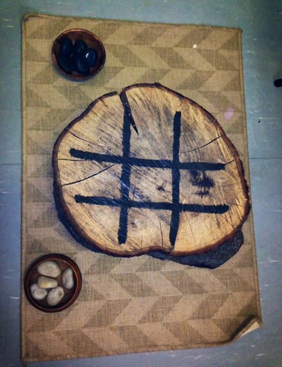 """Tic tac toe from Church Grammer School, image shared by Yarn Strong Sista ("""",)"""