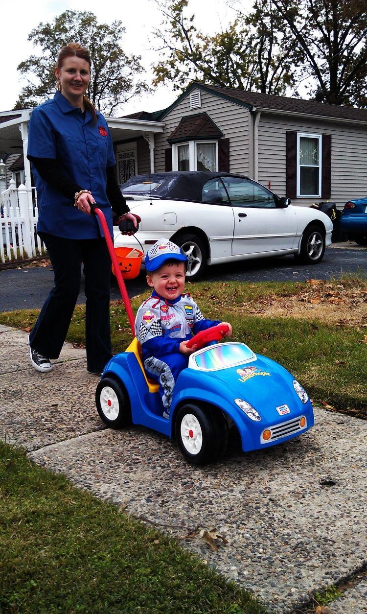 Race Car Driver Halloween Baby 2011 Mom365 We Love The Fall
