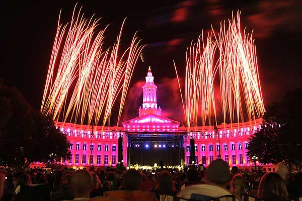 Denver fireworks light up night, inspire help for wildfire victims - The Denver Post