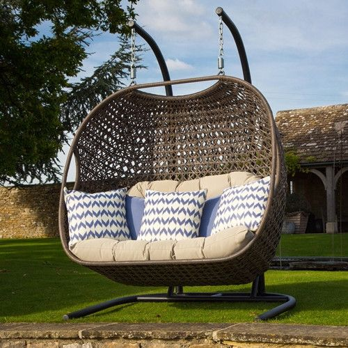 Bramblecrest Rio Double Hanging Cocoon   Ideas for the house   Pinterest