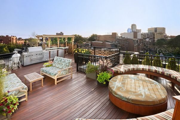 Charming Beautiful Roof Deck Design And Architecture