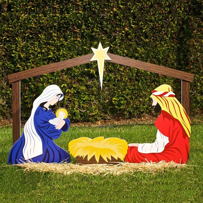 religious christmas decorations slideshow large outdoor christmas ornaments christmas yard decorations christmas - Religious Outdoor Christmas Decorations