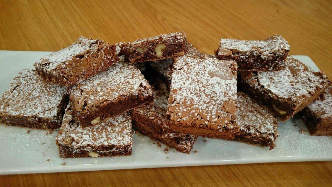 Receta dulce: brownie con helado | Cocina Ariel Rodriguez Palacios ...