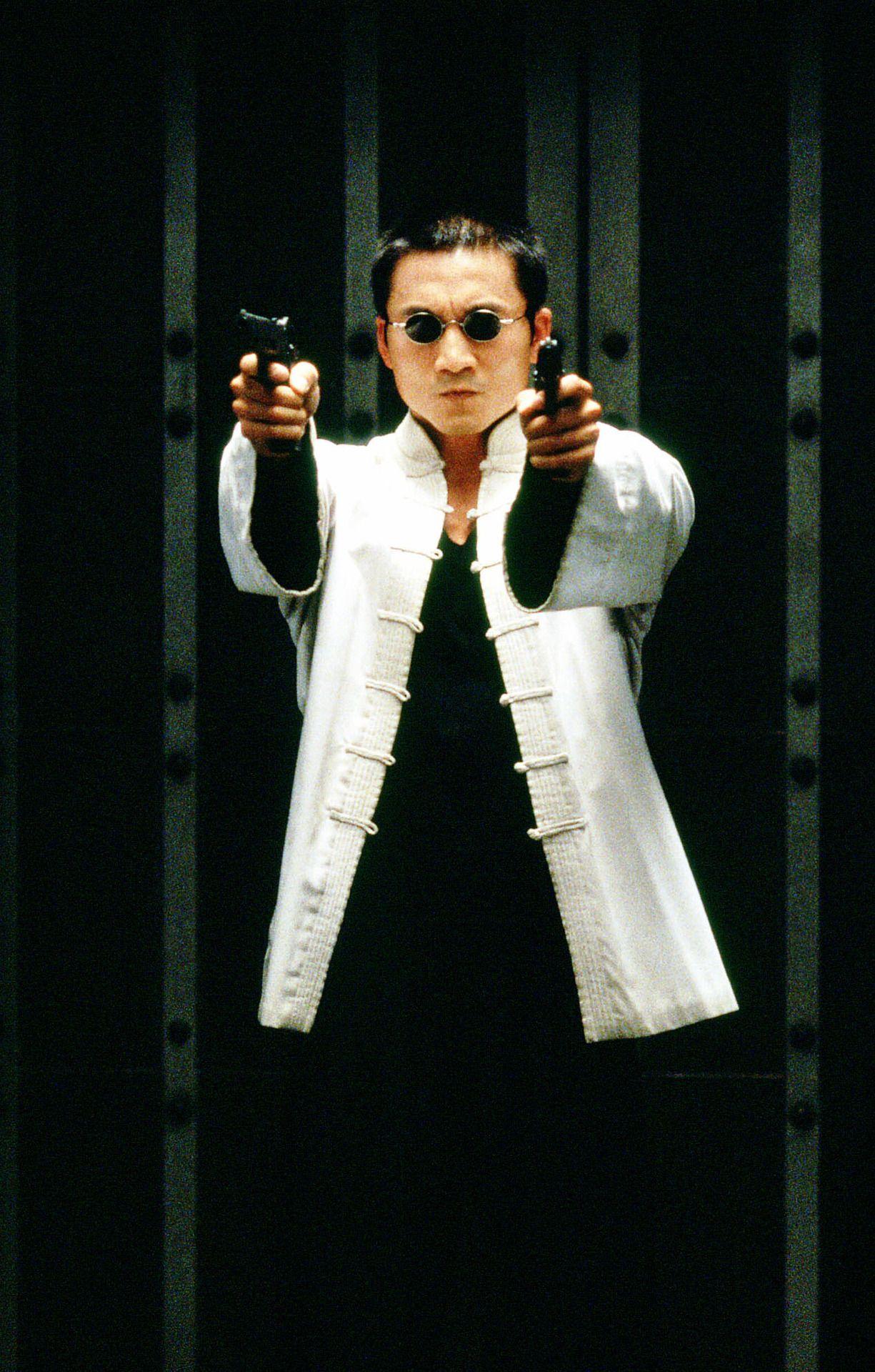 Collin Chou as Seraph in The Matrix Revolutions   Film