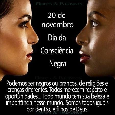 20 De Novembro Frase Dia Nacional Da Consciência Negra 19 Datas