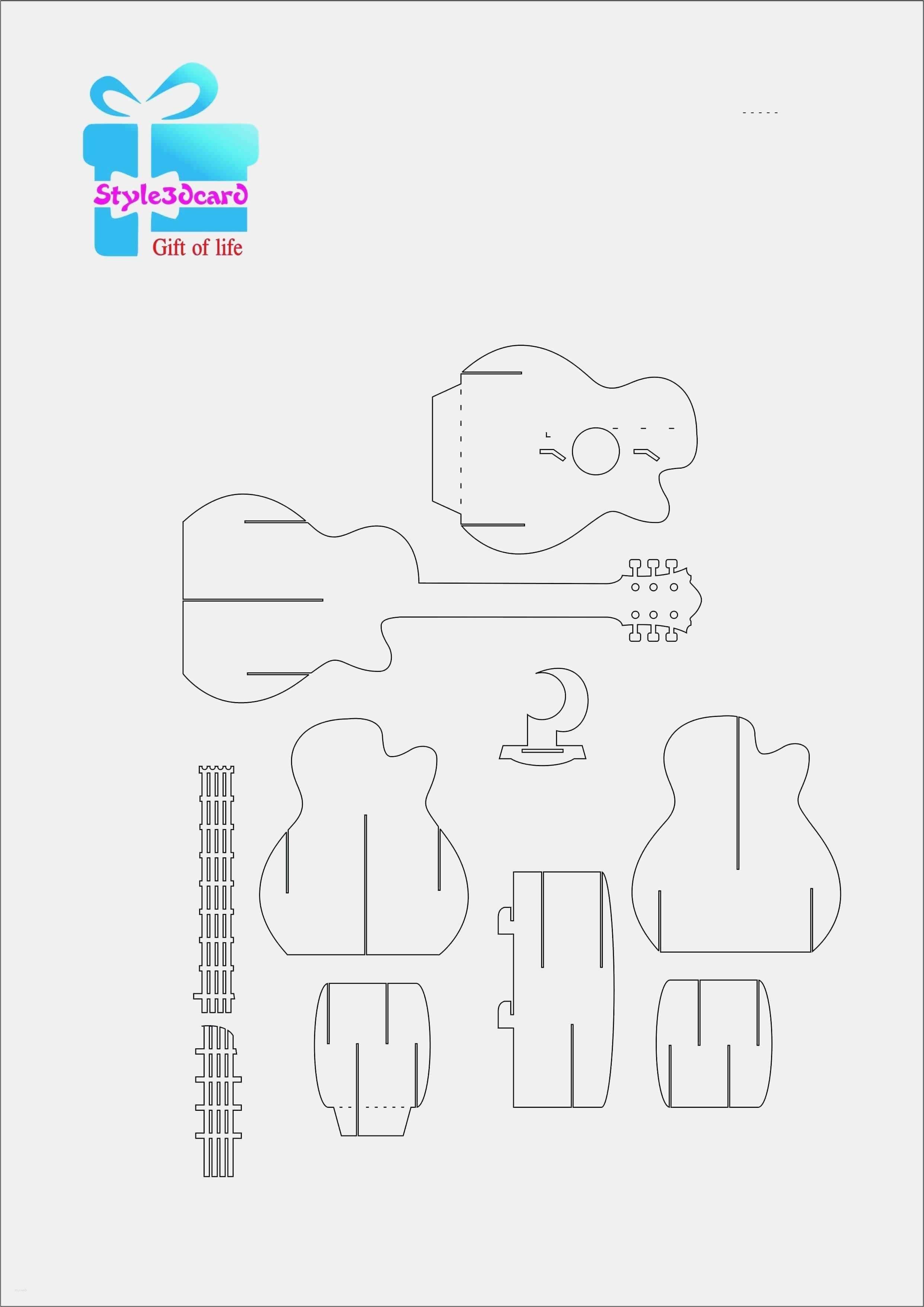 Einzigartig puzzleteilvorlage pop up card templates diy