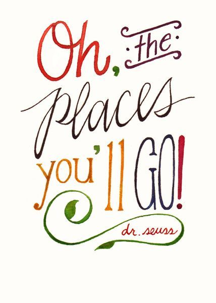39+ Oh the places youll go clipart free info