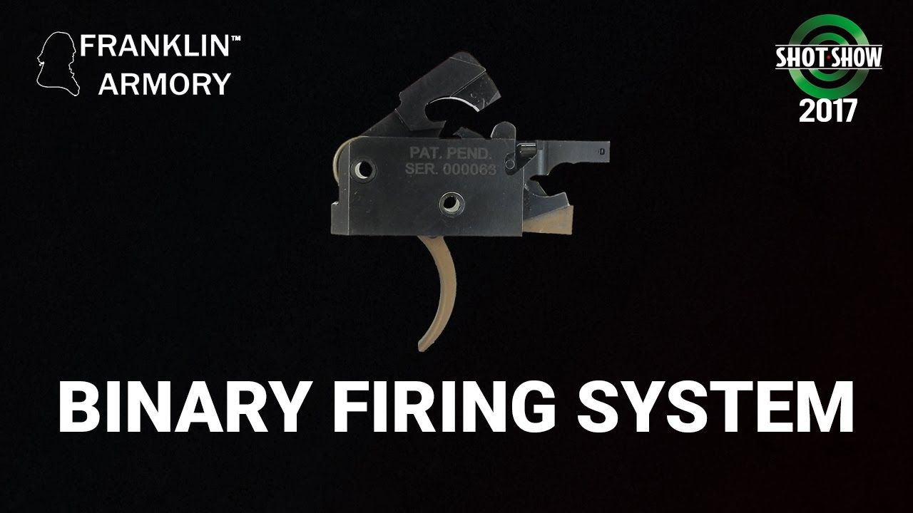 Franklin Armory Binary Firing System Shot Show 2017 Range Day