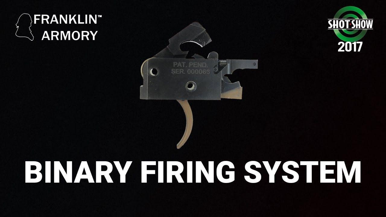 Franklin Armory Binary Firing System Shot Show 2017 Range Day
