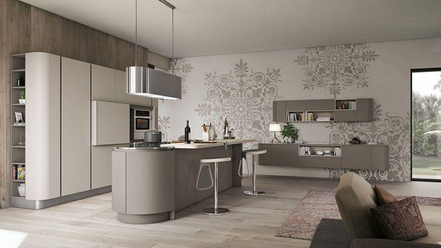 pareti della cucina, quali colori prediligere? 35 Idee Per Colori Di Pareti Di Cucine Moderne Mondodesign It Cucine Moderne Cucine Bianche Moderne Interni Della Cucina