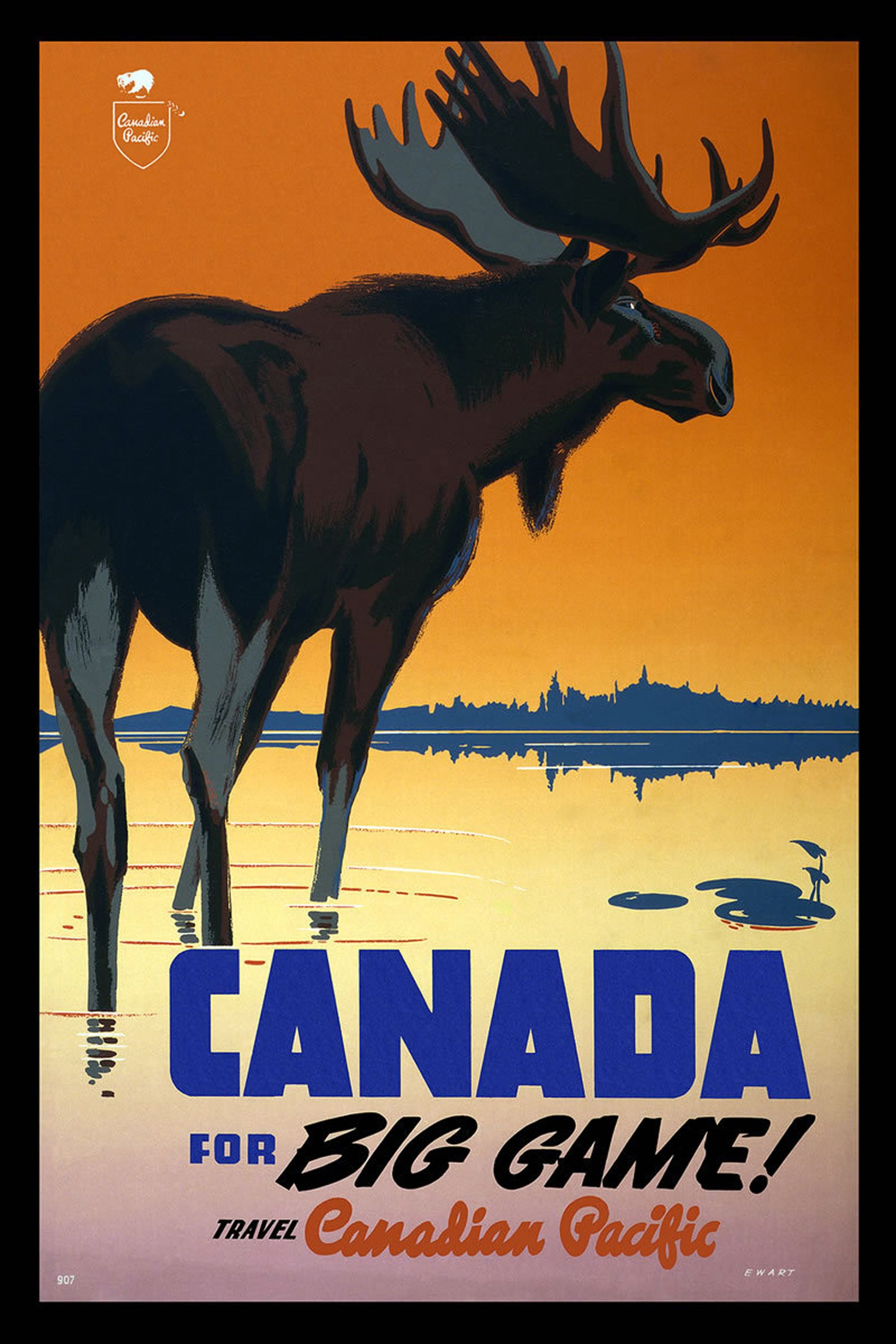 public domain travel poster Stock Graphics Vintage