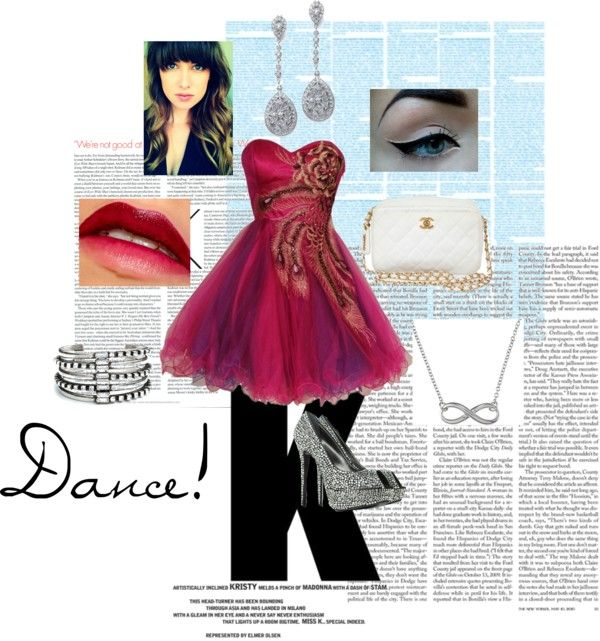 """Dance!"" by kira-mckee on Polyvore"