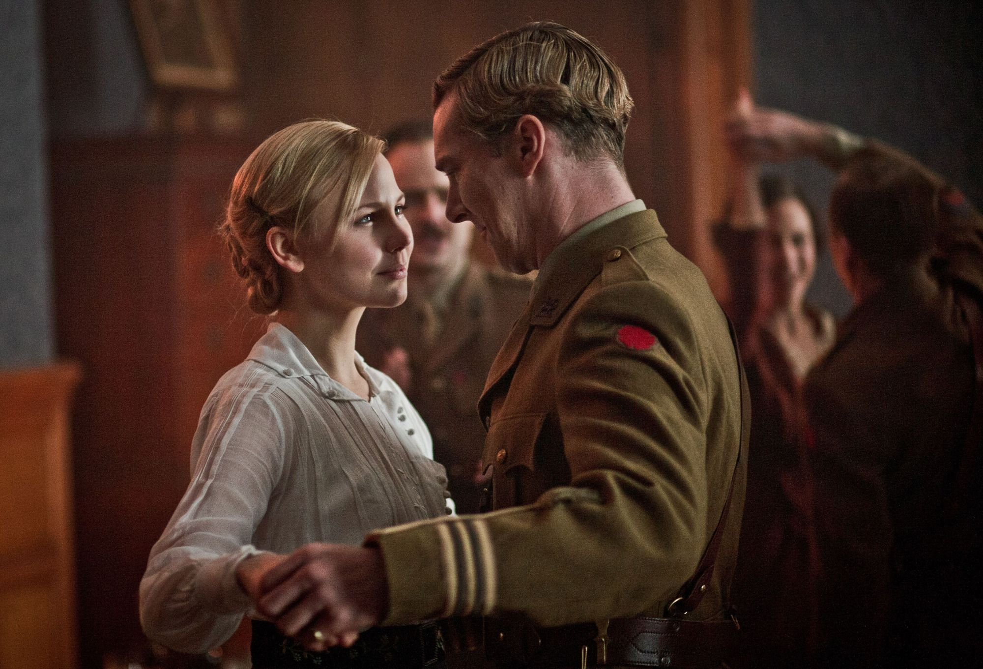 Valentine (Adelaide Clemens) and Christopher (Benedict Cumberbatch) get their happy ending