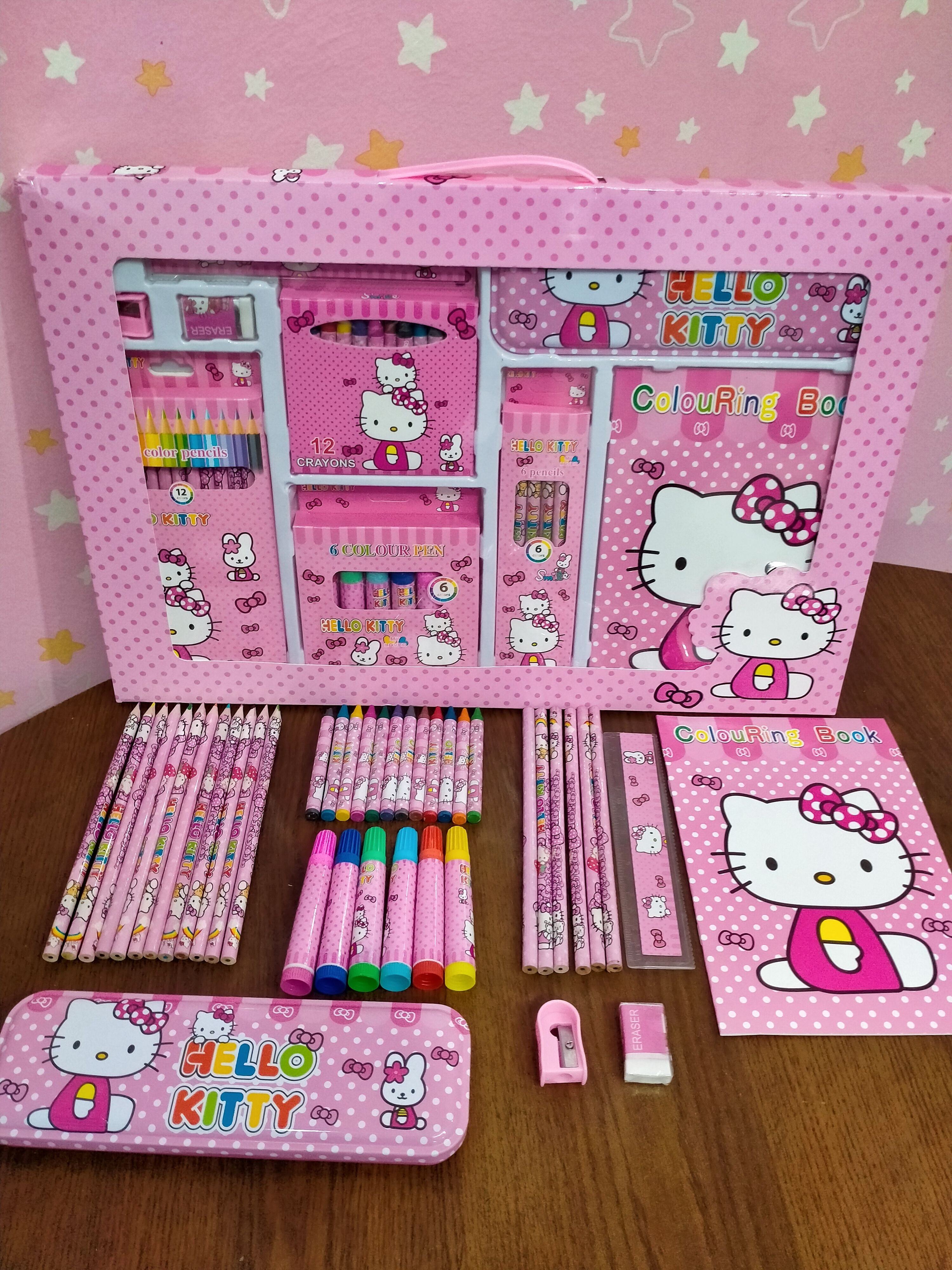 High Quality School Stationary Set For Your Kids Id S002013 In 2020 Stationary School Kids Stationary Stationary Set