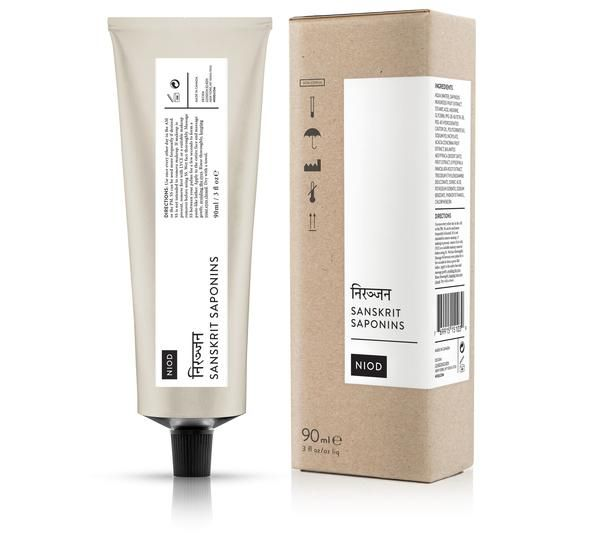 Sanskrit Saponins from NIOD is a luxurious cleaning balm for your face. After the first use, this balm leaves your skin looking youthful and radiant. Shop now!