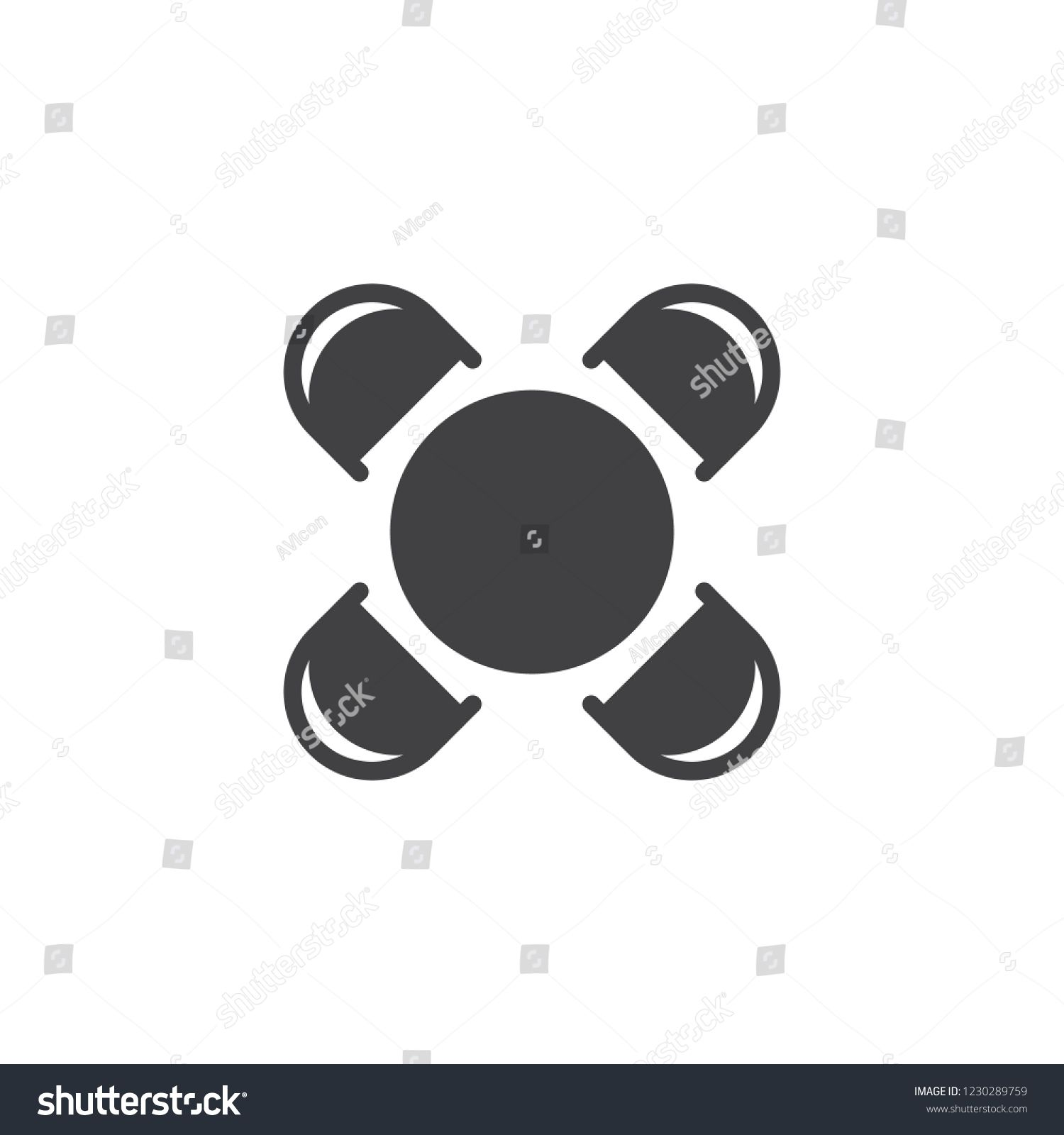 Round Table And Chairs Top View Vector Icon Filled Flat Sign For Mobile Concept And Web Design In 2020 Round Table And Chairs Logo Illustration Children Illustration
