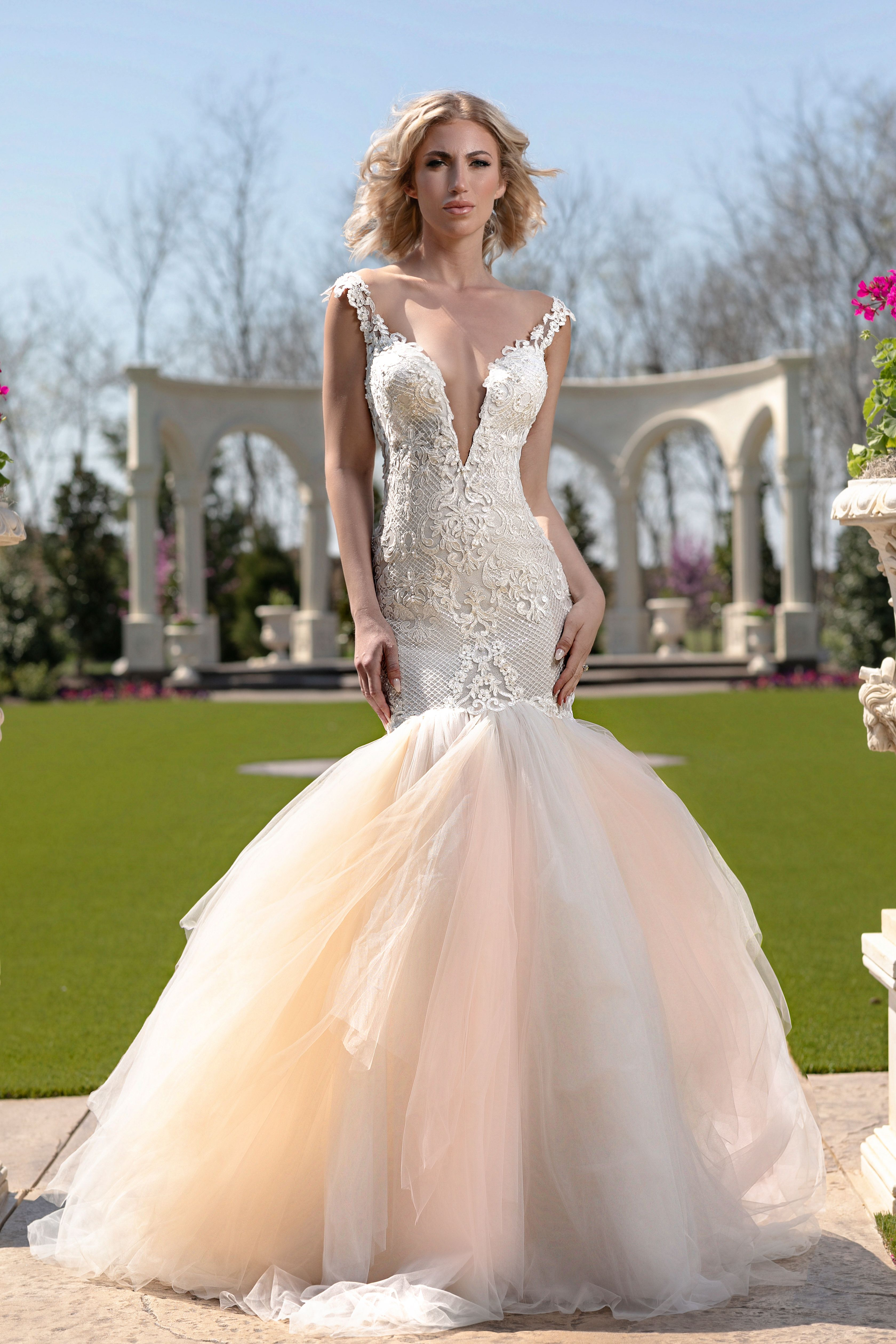 Photo courtesy of Hiram Trillo Bride, Wedding dresses