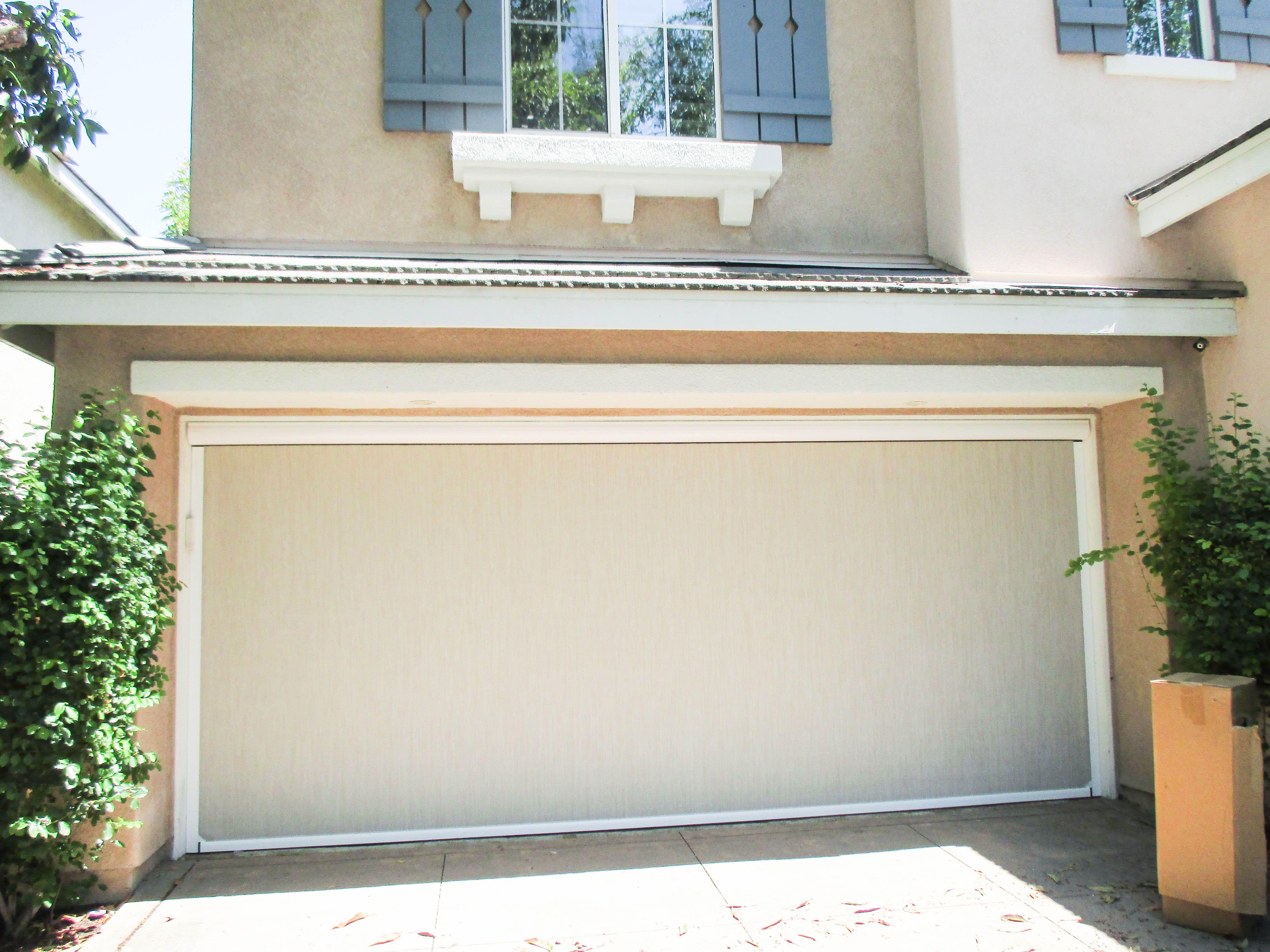 If You Find Yourself Cracking Your Garage Door Open To Ventilate Or Leaving It All The Way Open W Shutters Exterior Garage Screen Door Retractable Screen Door