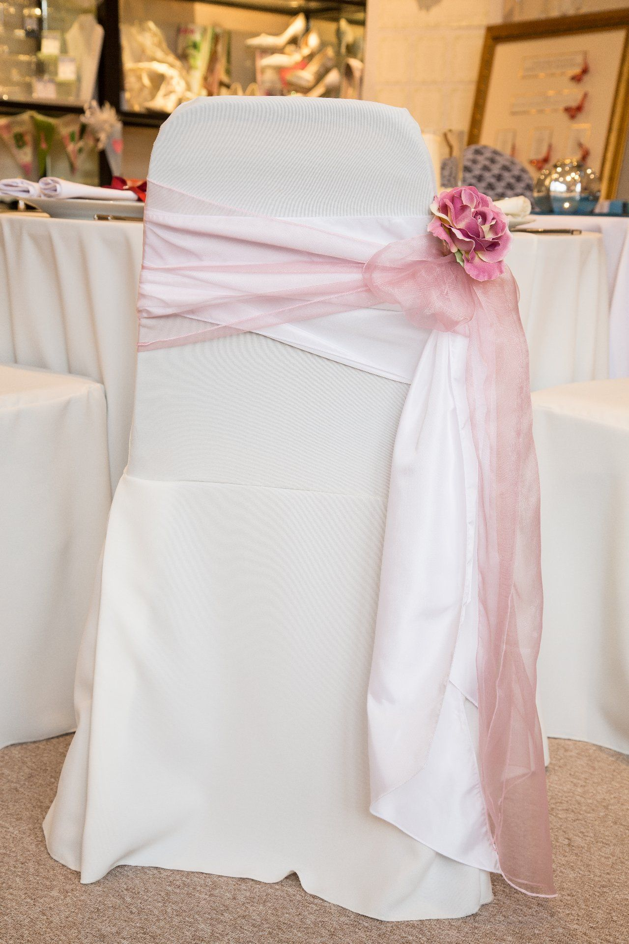 Wedding Chair Cover Hire Northamptonshire Blue High Back Full Event Dressing And Design Service Http Www