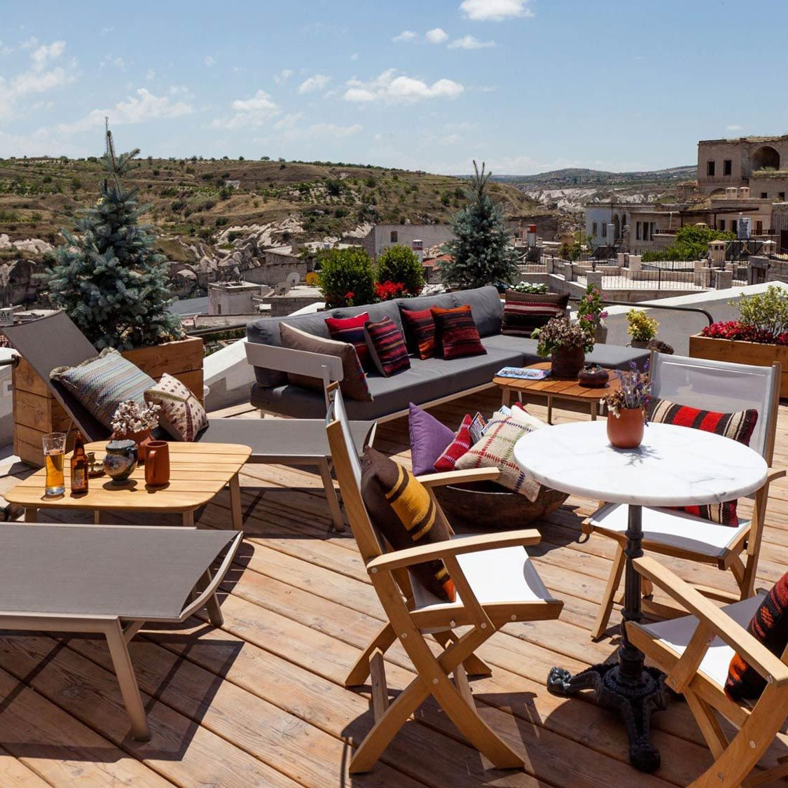 Relax Rooftop Living Room The House Hotel Cappadocia Vossy
