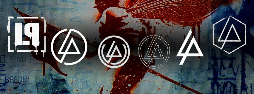 Hybrid Theory cover with LP logos Montage by Leonardo Felipe