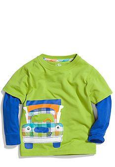 J Khaki� Novelty Crew 2Fer Tee Toddler Boys