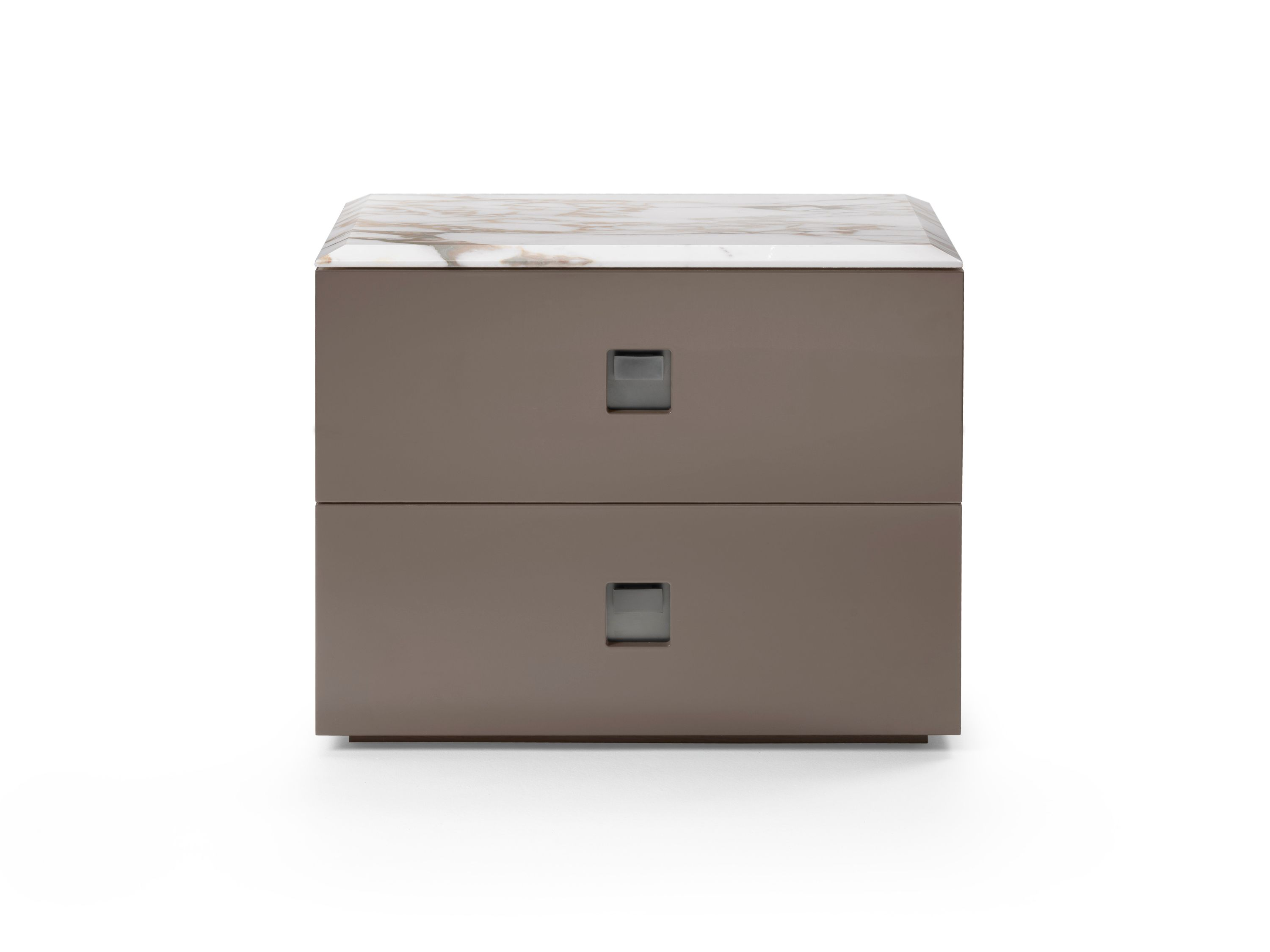 lacquered bedside table with drawers rafael bedside table mood