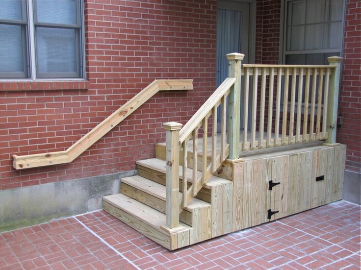Back Door Landings Google Search Outdoor Stairs Patio Stairs Porch Steps