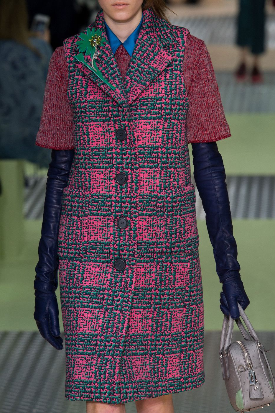 Prada at Milan Fashion Week Fall 2015 - StyleBistro