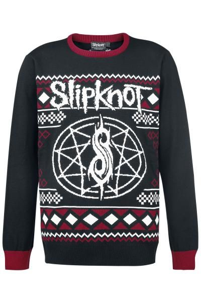you know the world is full of geeks when they have slipknot ugly christmas sweaters for sale - Heavy Metal Ugly Christmas Sweaters