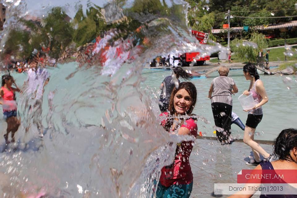 Vardavar (water festival) in Armenia