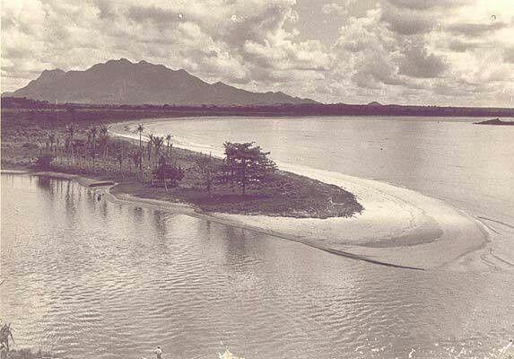 Praia de Camburi - Vitória (1950)