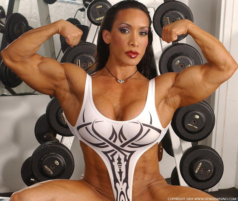 Denise Masino | MUSCULAR & SEXY 2 | Muscular women, Muscle ...