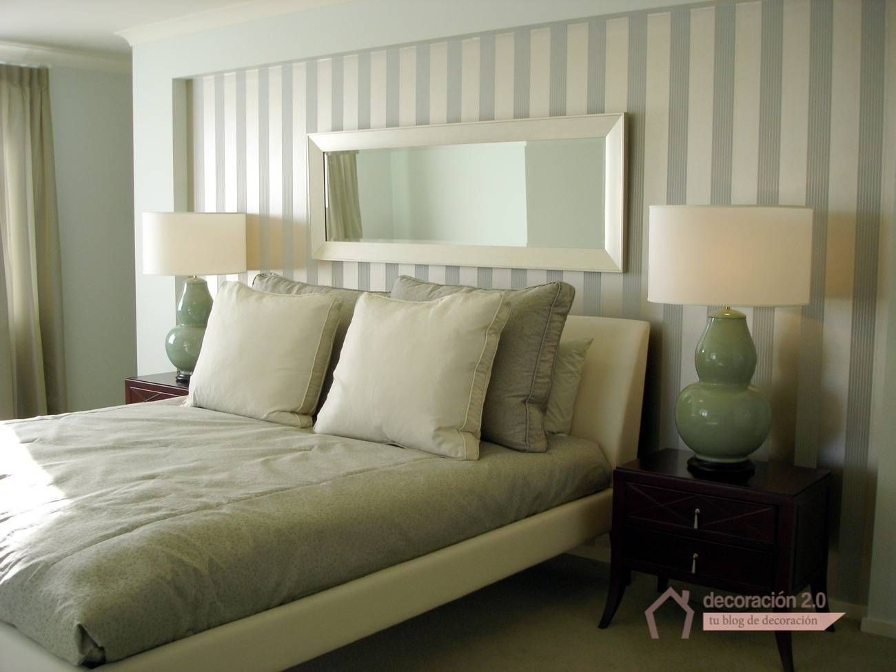papel pintado rayas dormitorio Buscar con Google Master room