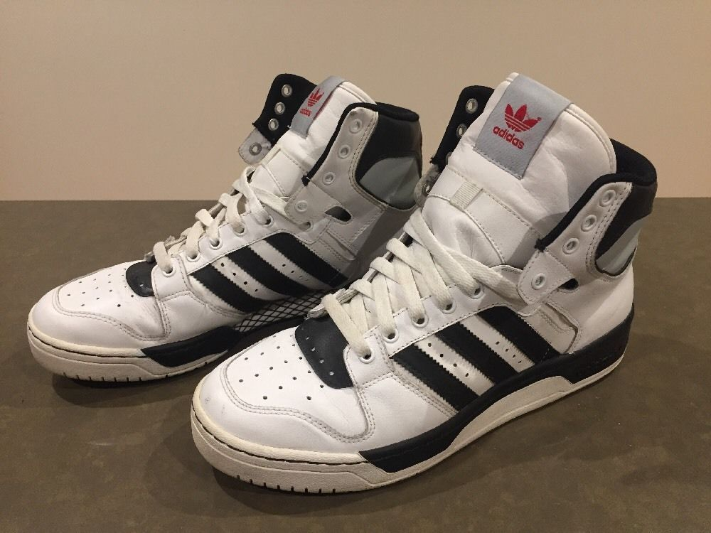 pretty nice 6b03e e1e03 The classic adidas Conductor Hi model with an original colorway. This super  hi top sneaker
