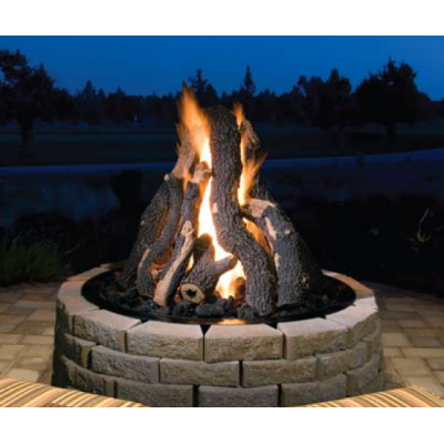 Golden Blount Grand Firepit Gas Logs Set Fire Pit Backyard Sunken Fire Pits Outdoor Fire Pit
