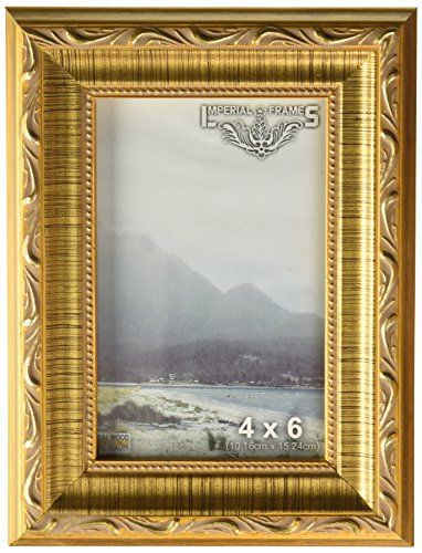 Imperial Frames 12 By 16inch16 By 12inch Picturephoto Frame Dark Gold With Floral Design To View Further For Frame Photo Frame