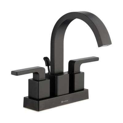 Black Centerset Bathroom Sink Faucets Bathroom Sink Faucets The Home Depot Bathroom Faucets Faucet High Arc Bathroom Faucet