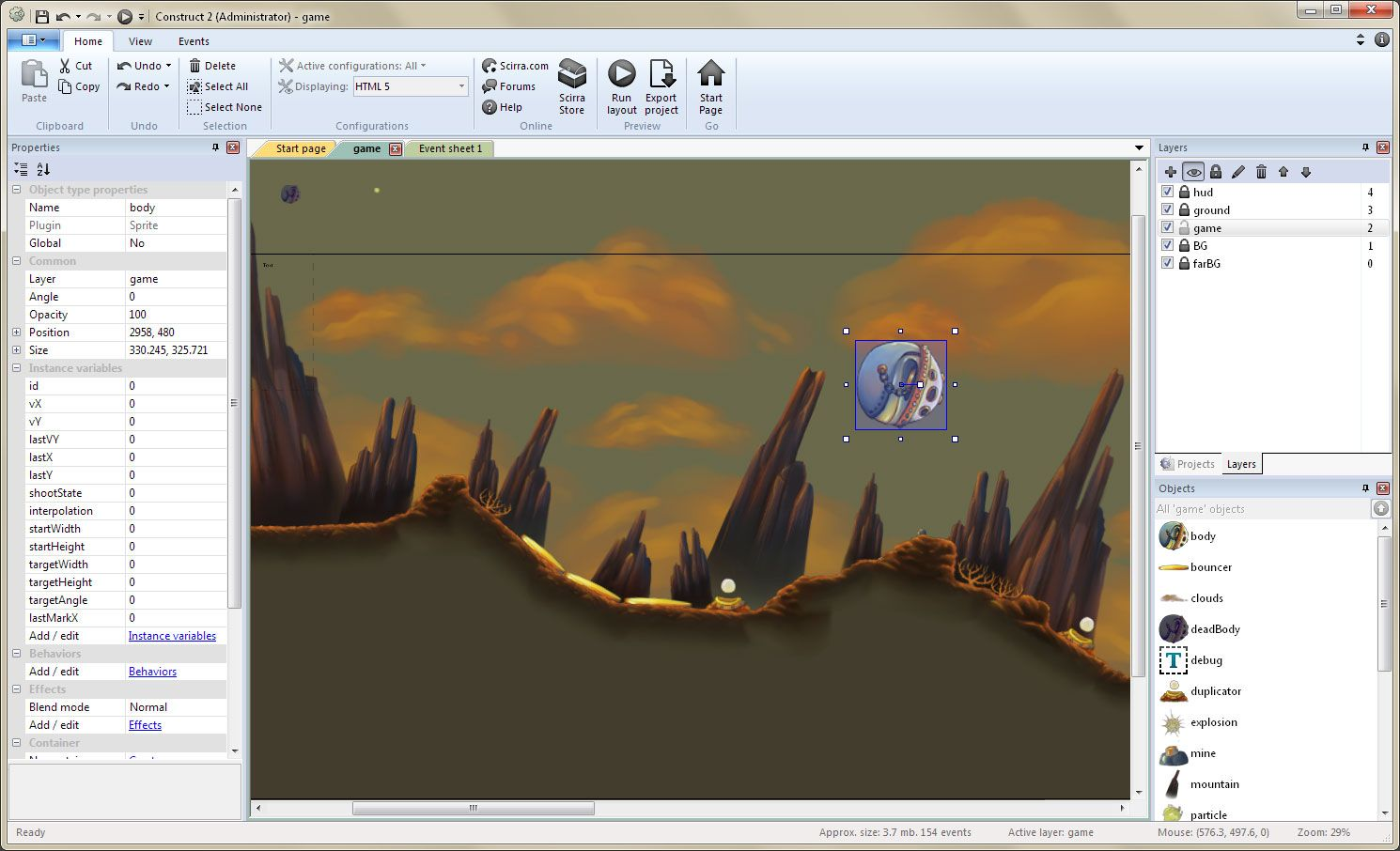 Create Games with Construct 2 Construct 2