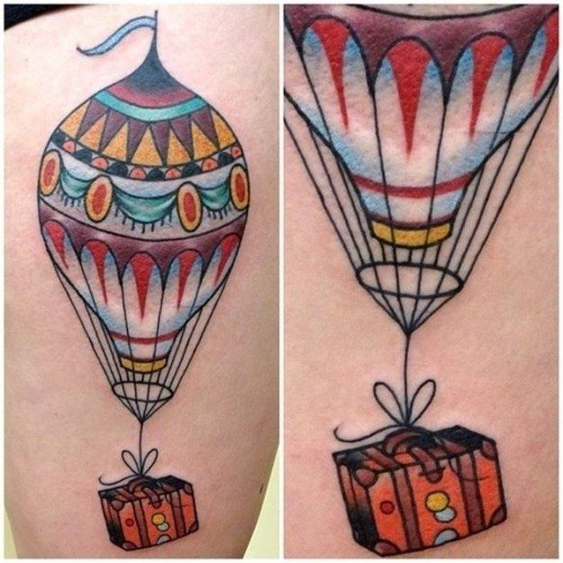 Travel Tattoos (42 Photos) | Inked | Pinterest | Tattoo, Body art ...