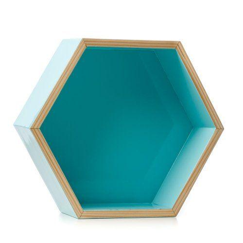 Home republic hexagonal shelves homewares home decorations art adairs online