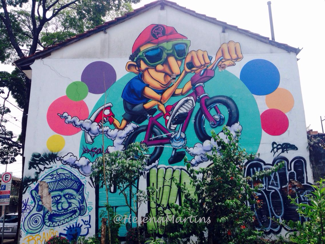 Street art from São Paulo