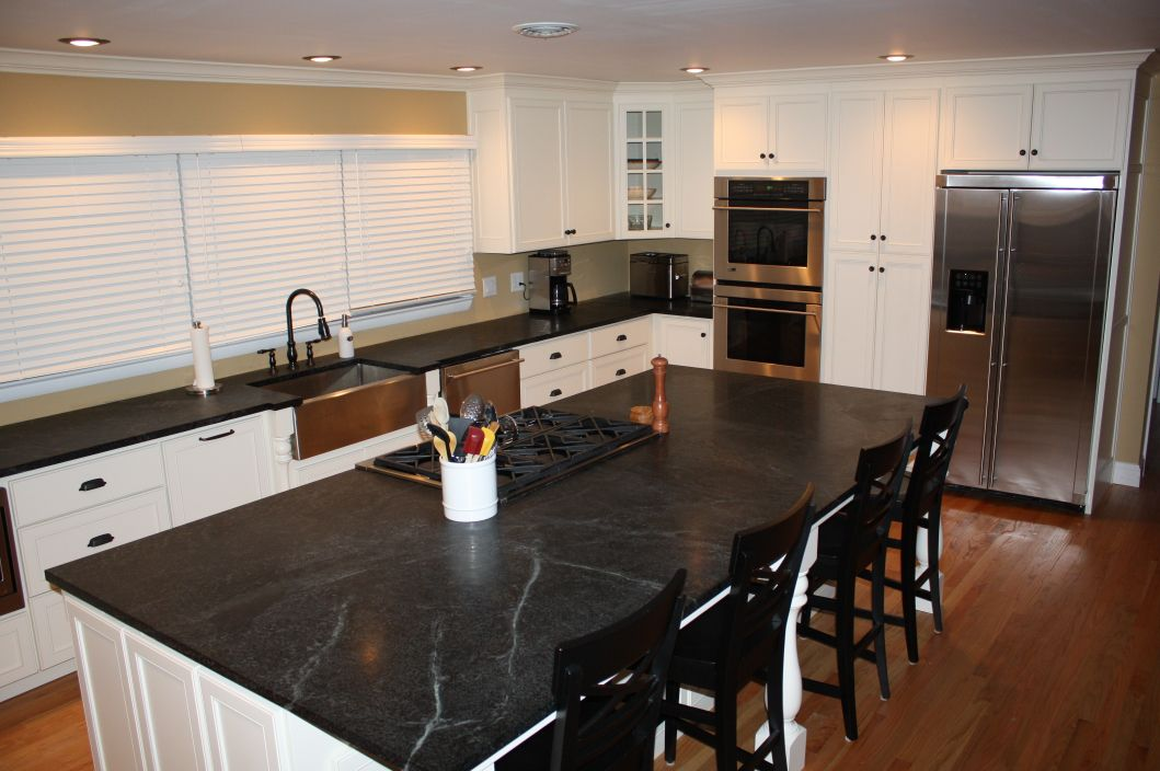 Caring For Soapstone Countertops Use Natural Stone Kok