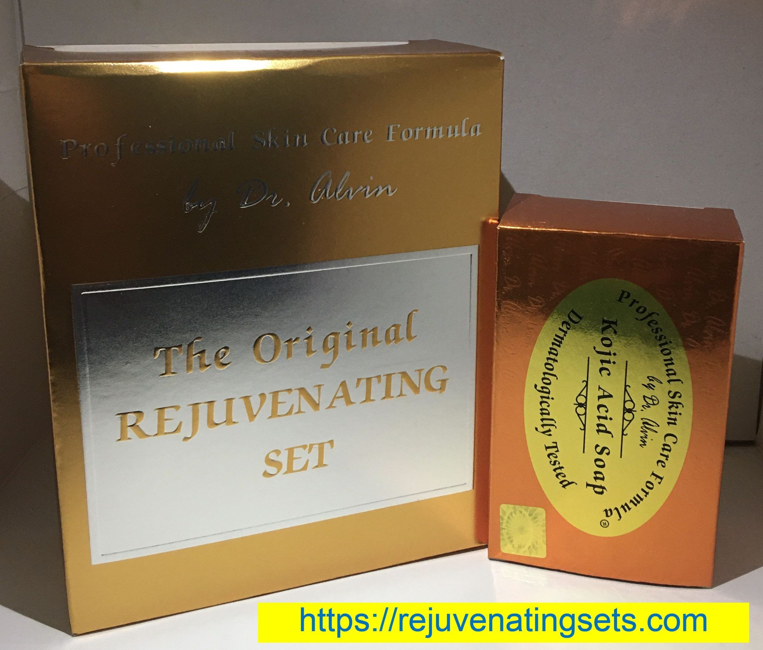 Dr Alvin Rejuvenating Set Extra Kojic Soap For Those Who Want More Of Kojic Soap In Handpickedsets Acnepron Everyday Beauty Routine Soap Beauty Routines